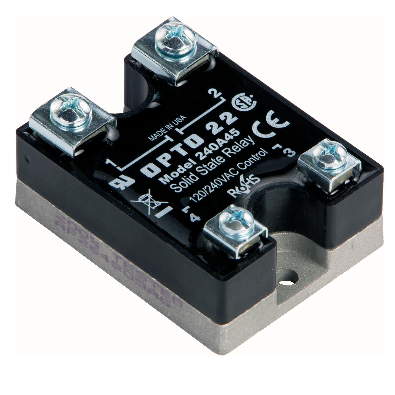 ssr control 240 vac schematic opto22 240a45    240       vac     45 amp  ac    control    solid state  opto22 240a45    240       vac     45 amp  ac    control    solid state