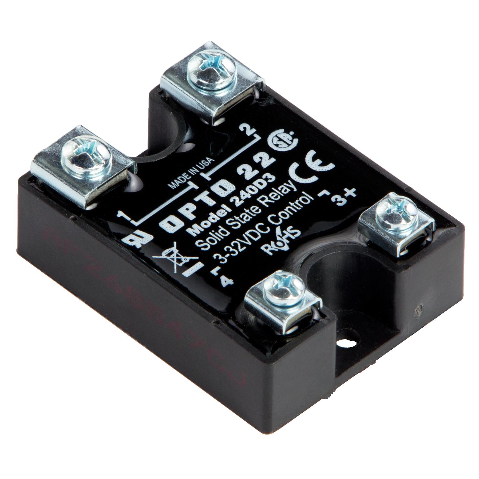 ssr control 240 vac schematic opto22 240d3    240       vac     3 amp  dc    control    solid state  opto22 240d3    240       vac     3 amp  dc    control    solid state