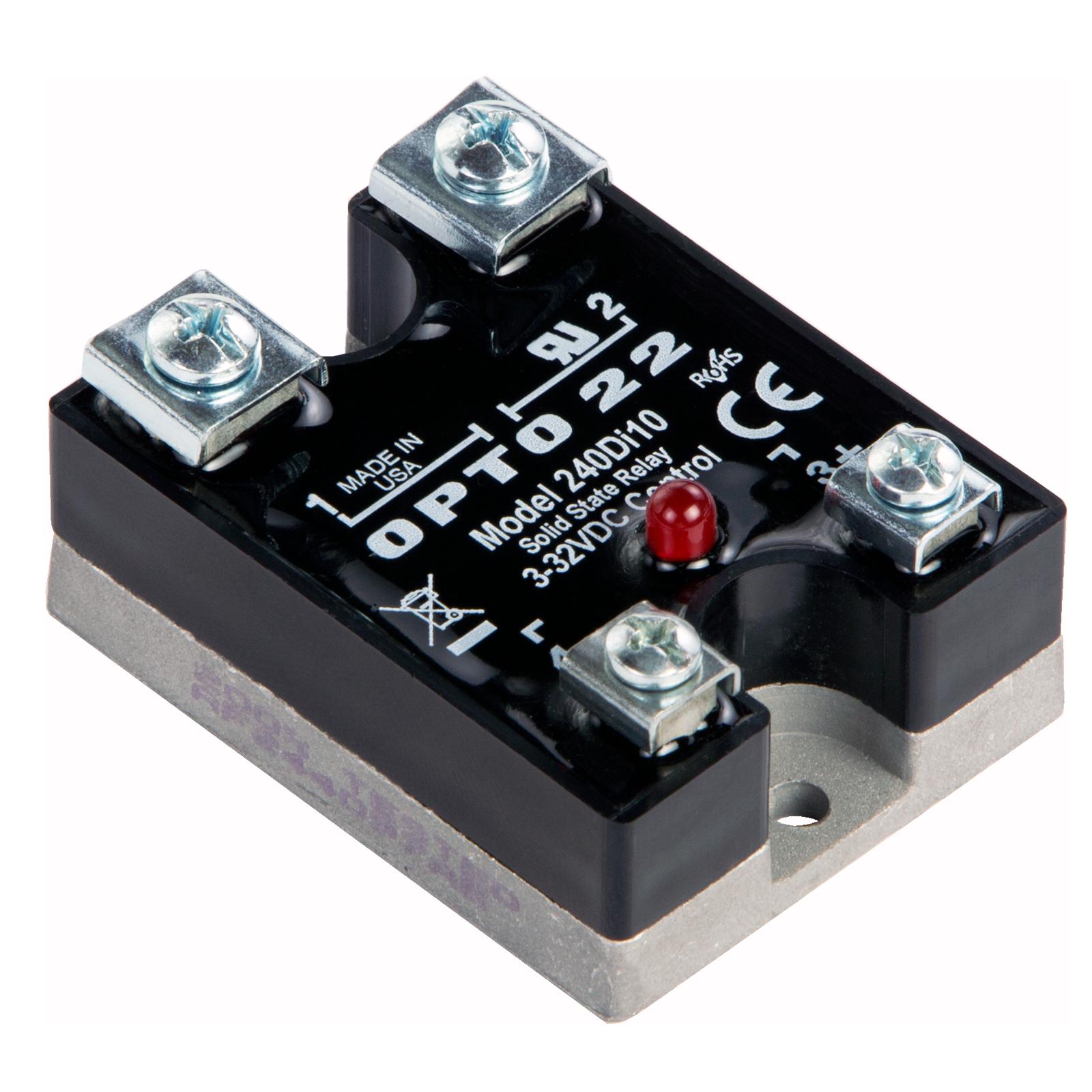 ssr control 240 vac schematic opto22 240di10    240       vac     10 amp  dc    control    solid state  opto22 240di10    240       vac     10 amp  dc    control    solid state