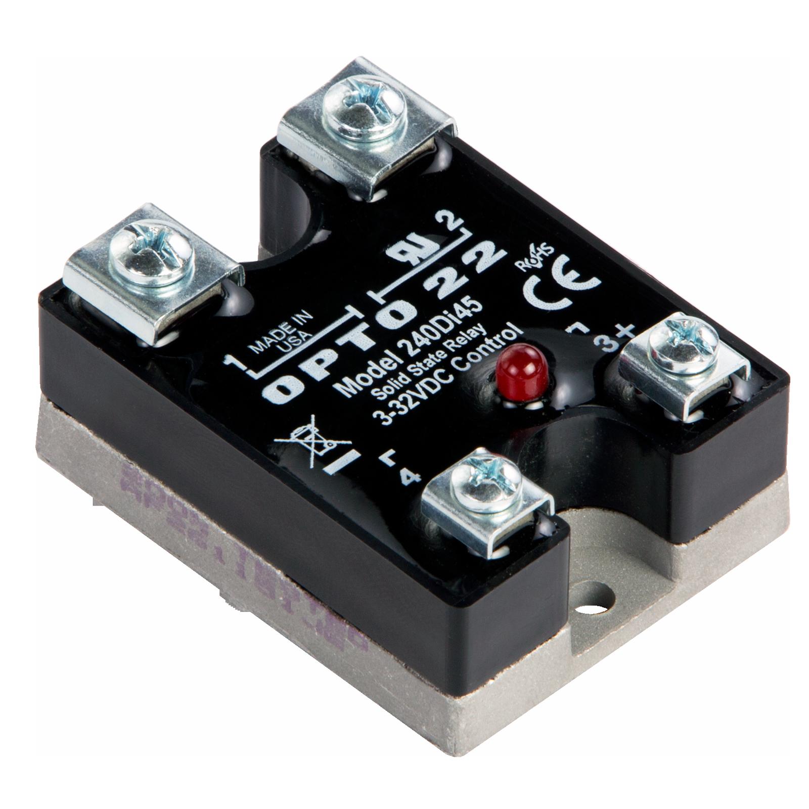 ssr control 240 vac schematic opto22 240di45    240       vac     45 amp  dc    control    solid state  opto22 240di45    240       vac     45 amp  dc    control    solid state
