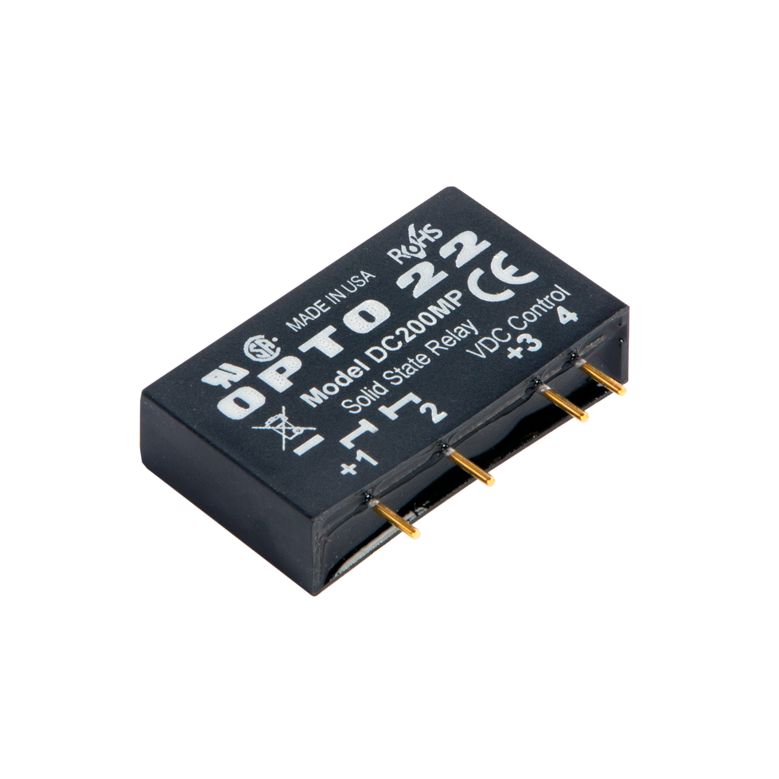 Opto22 Dc200mp Mp Model 200 Vdc 1 Amp Dc Control Solid State Relay Switch Lifetime Previous