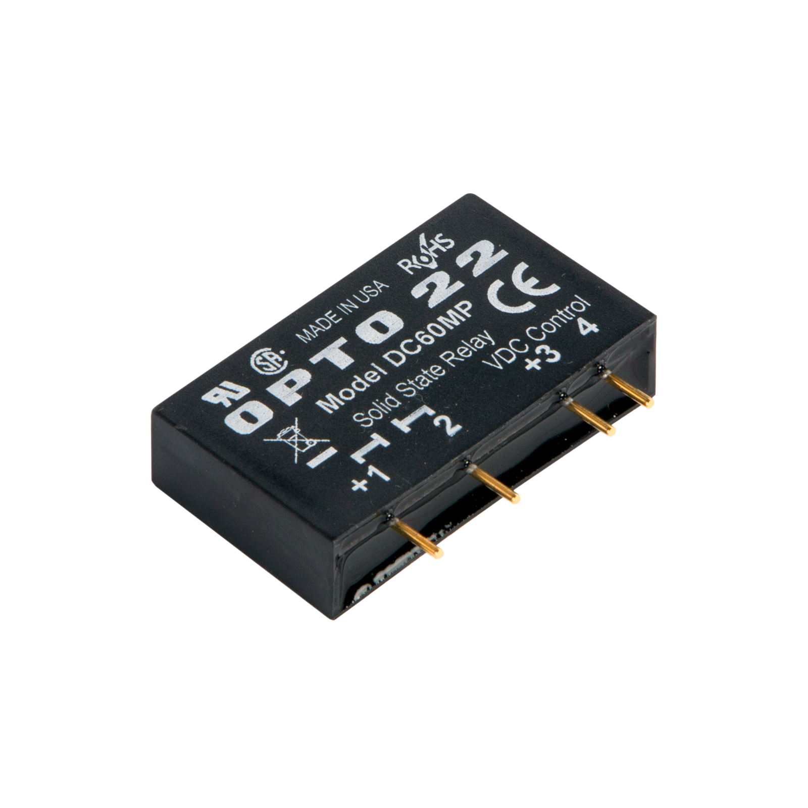 opto22 dc60mp mp model 60 vdc 3 amp dc control solid state rh opto22 com