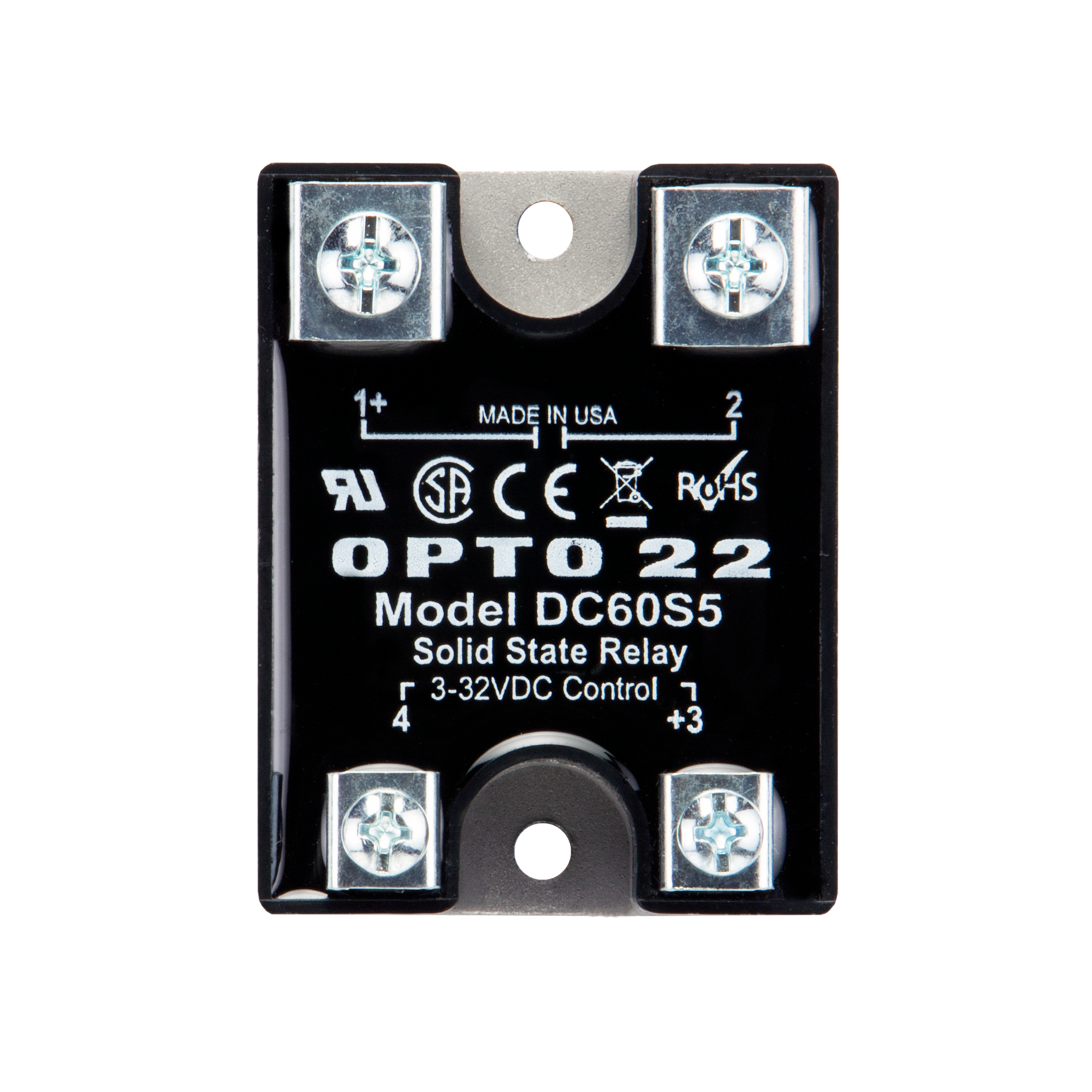 [DVZP_7254]   Opto22 - DC60S5 - 60 VDC, 5 Amp, DC Control Solid State Relay (SSR) | Opto 22 Ssr Wiring Diagram |  | Opto 22