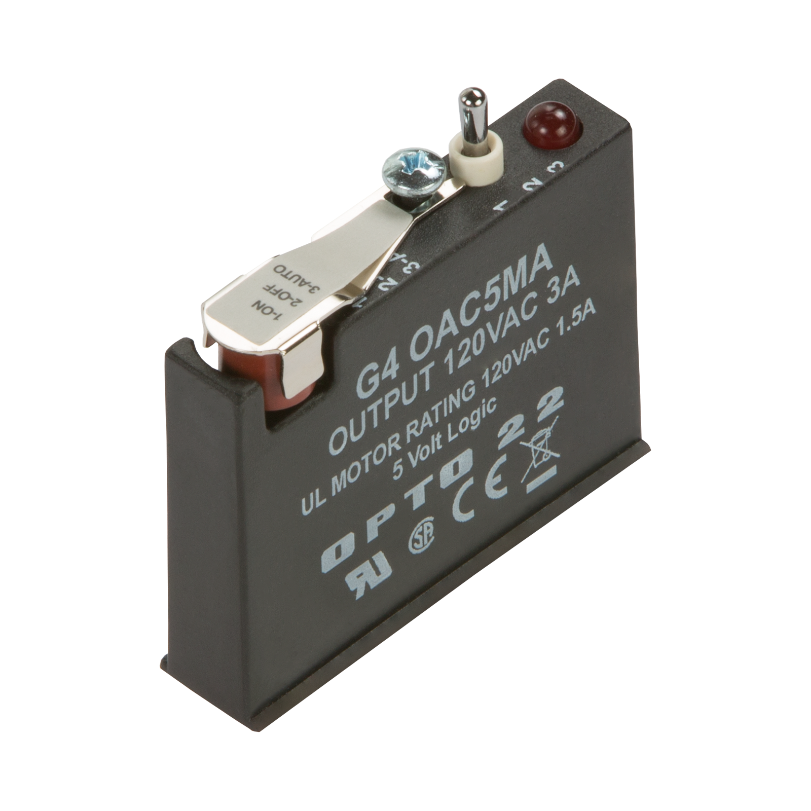 Opto 22 Wiring Diagram Database Solid State Relay Z240d10 Opto22 G4oac5ma G4 Ac Output 12 140 Vac 5 Vdc Logic With Manual
