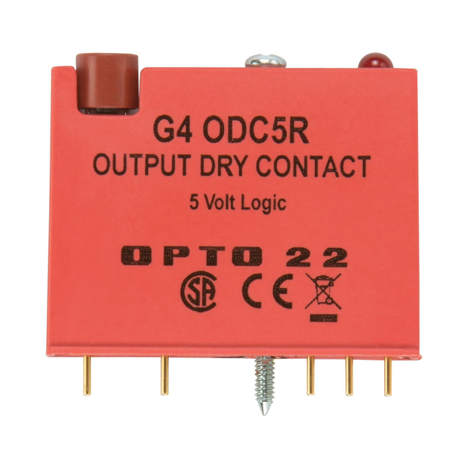 Opto22 G4odc5r G4 Reed Relay Output 5 Vdc Logic Normally Open Spstno 40 Amp 100 Typical Condition Previous