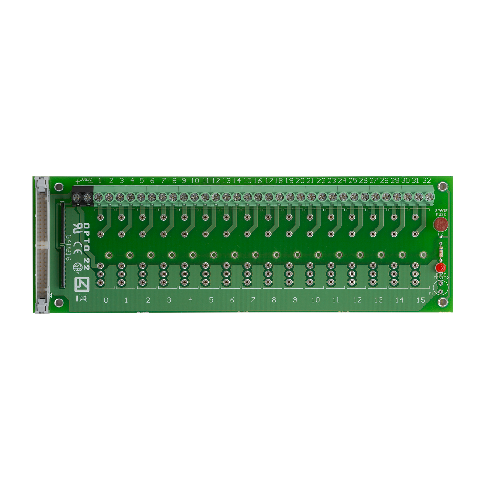 OPTO 22 G4PB16H G4 16 Channel Mounting Rack