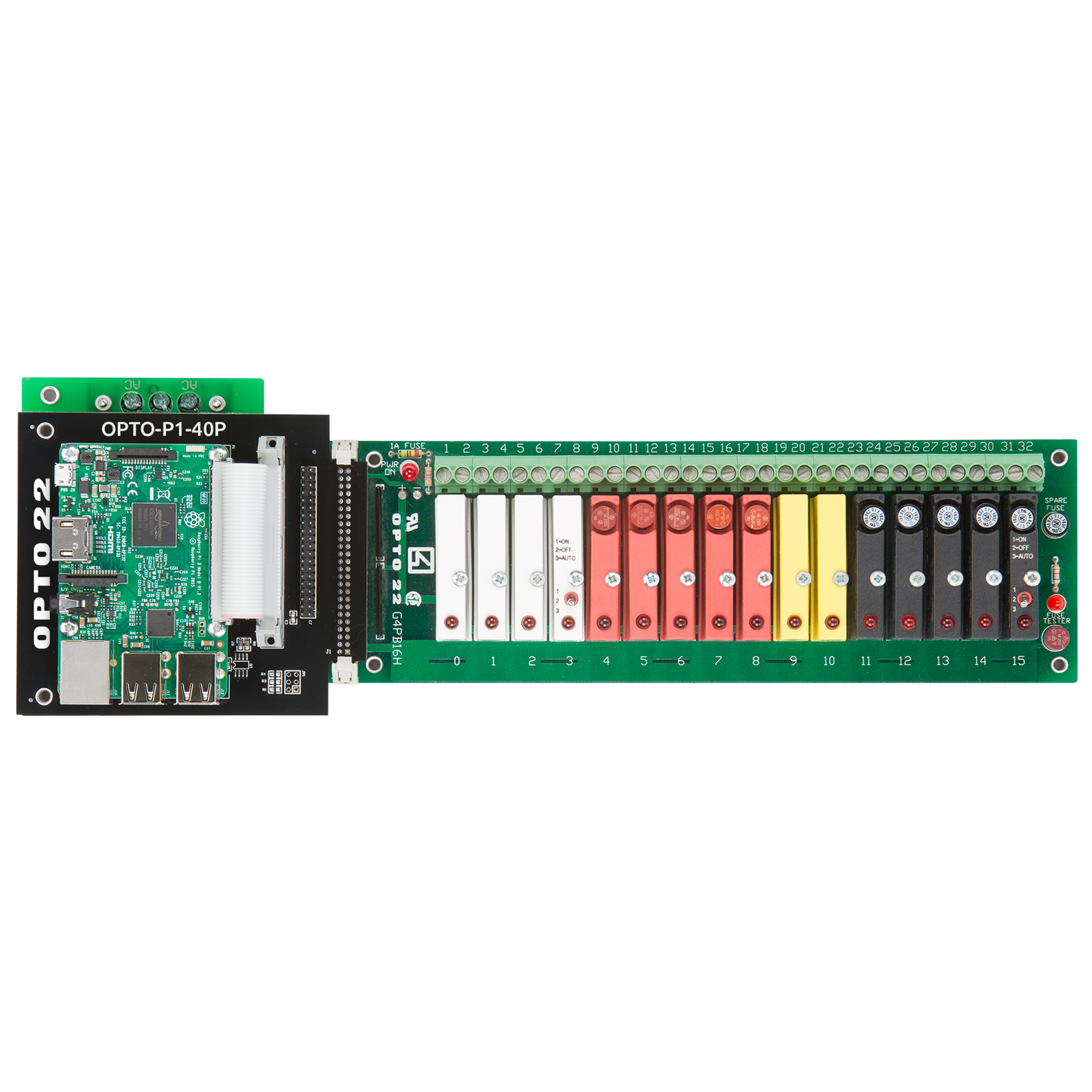 Opto22 Opto P1 40p Digital I O Carrier Board For Raspberry Pi 22 Wiring Diagram