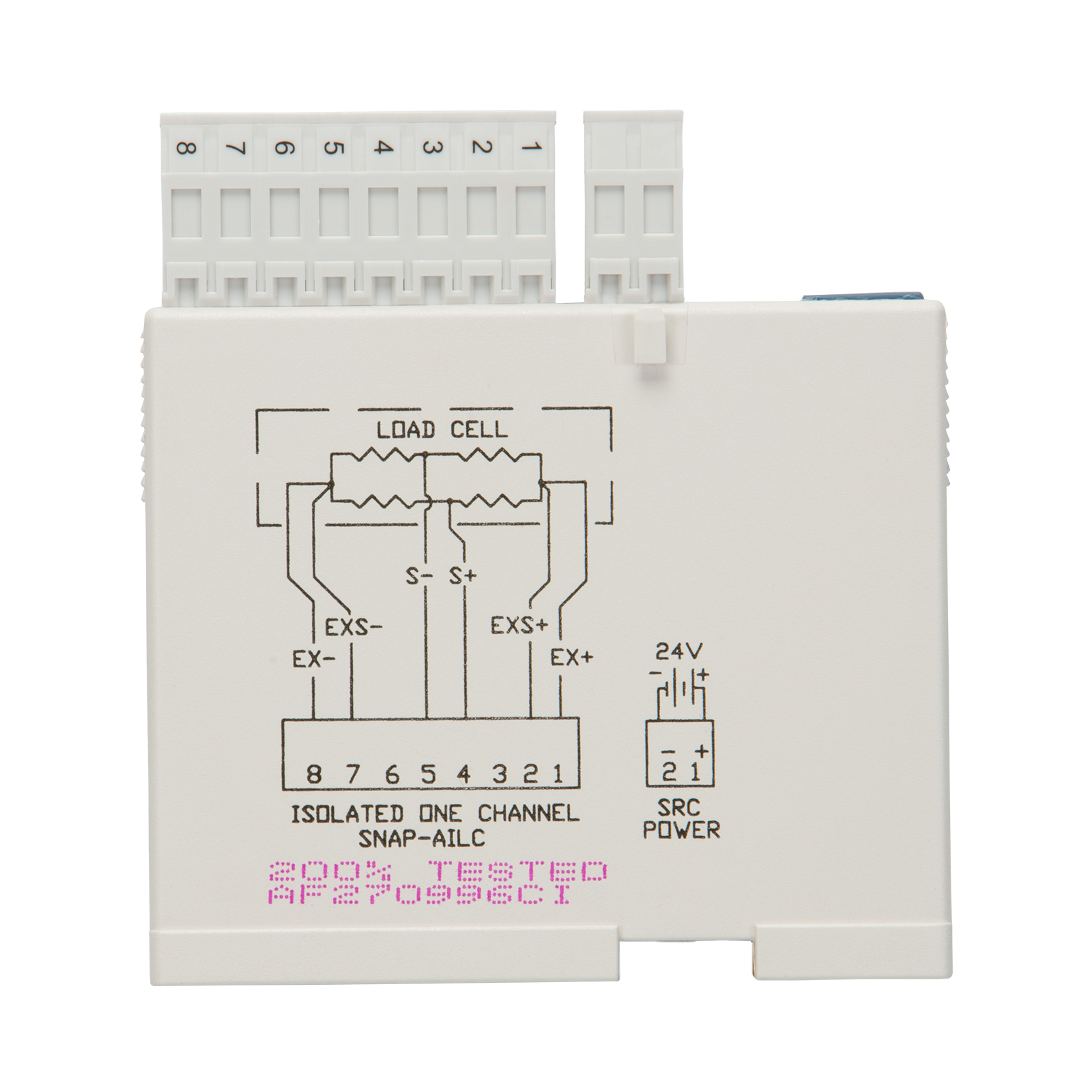 Opto22 Snap Ailc Load Cell Input Module 10 Vdc Excitation Enet Wire Diagram Previous