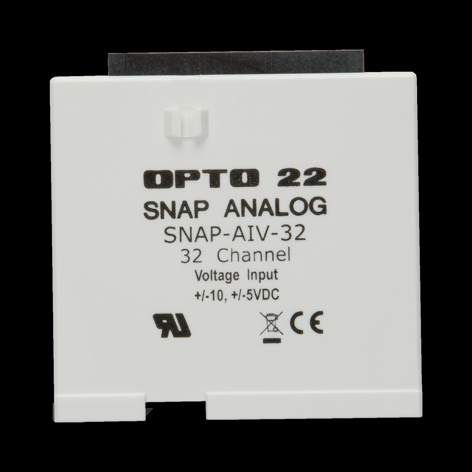 Opto22 Snap Aiv 32 Ch 10vdc To Analog Input Module Opto 22 Wiring Diagram Previous