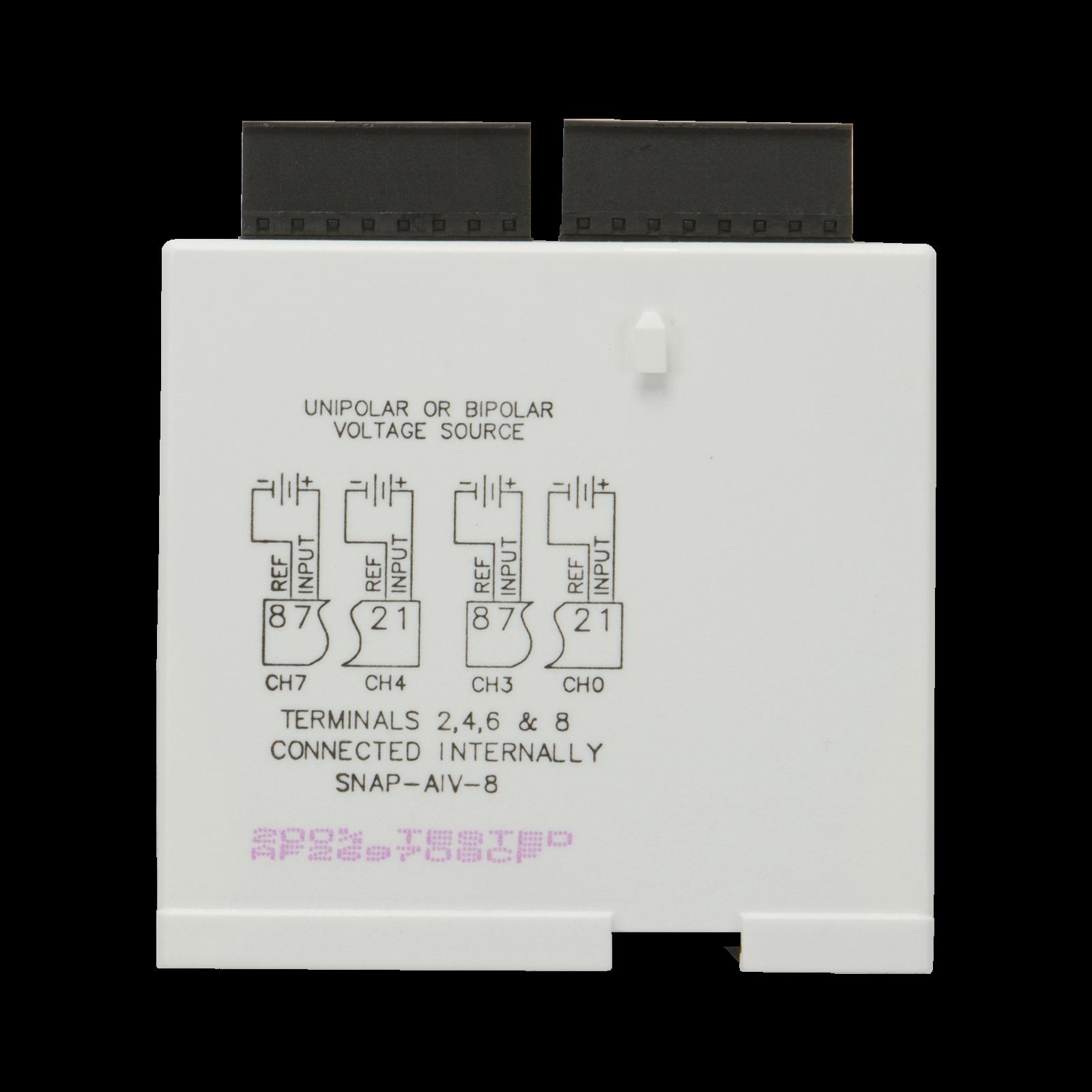 Opto22 Snap Aiv 8 Ch 10vdc To Analog Input Module Opto 22 Wiring Diagram Previous