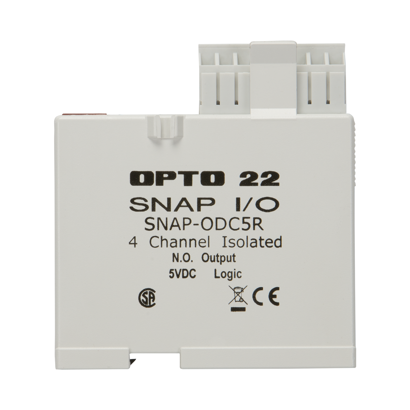 Opto22 Snap Odc5r 4 Ch Reed Relay Digital Discrete Output The Circuit Diagram Below Shows How Each Connects To Previous