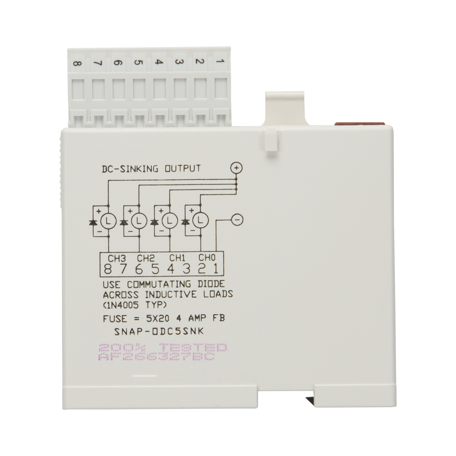 Opto22 Snap Odc5snk 4 Ch 5 60 Vdc Digital Discrete Output Download Resistor Calculator For Leds Serial And Parallel 2 Previous