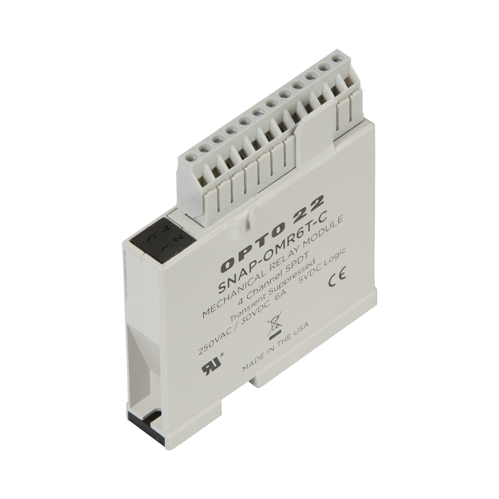 Opto22 Snap Omr6t C Isolated 4 Channel Mechanical Power Relay In Circuit Breaker Previous