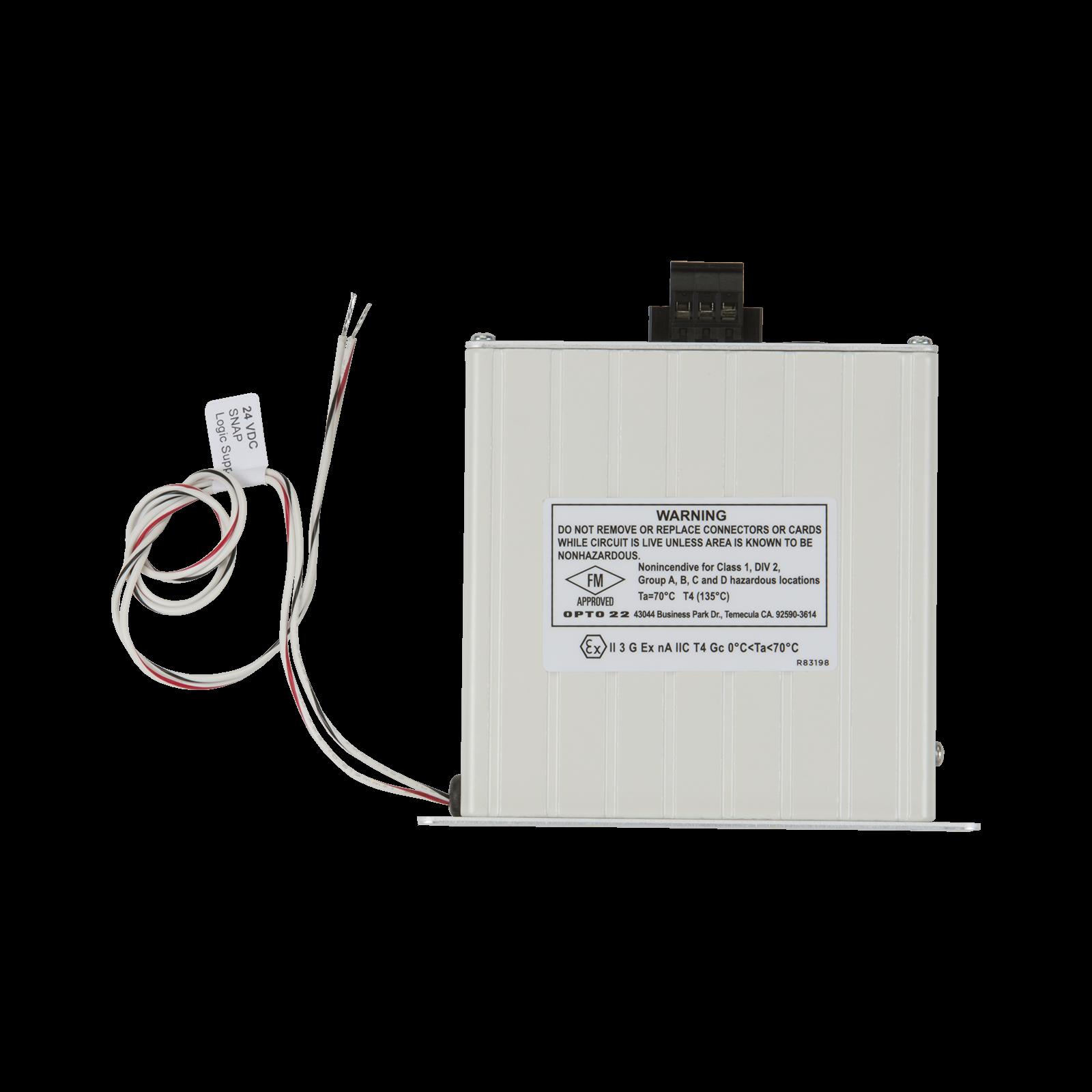 Opto22 - SNAP-PS24 - SNAP Power Supply, 110 VAC to 24 VDC