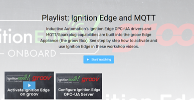 Opto22 - Playlist: Ignition Edge and MQTT