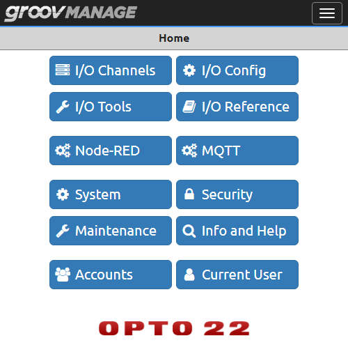groov Manage for groov RIO