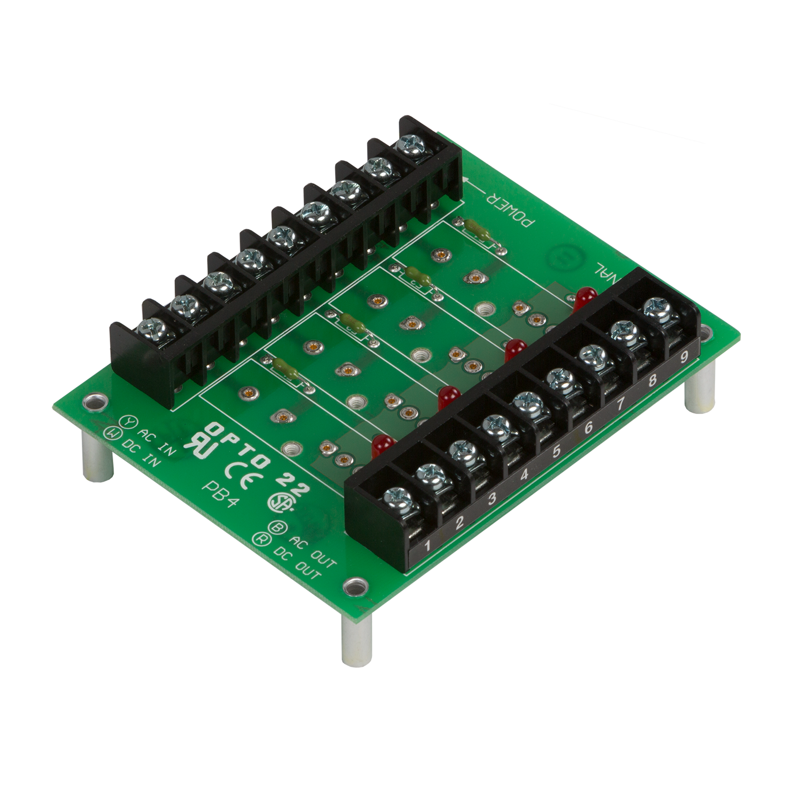 Opto 22 Wiring Diagram Todays Cbr 250 Opto22 Pb4 G1 4 Channel I O Module Rack With 2 Barrier Strips Durant