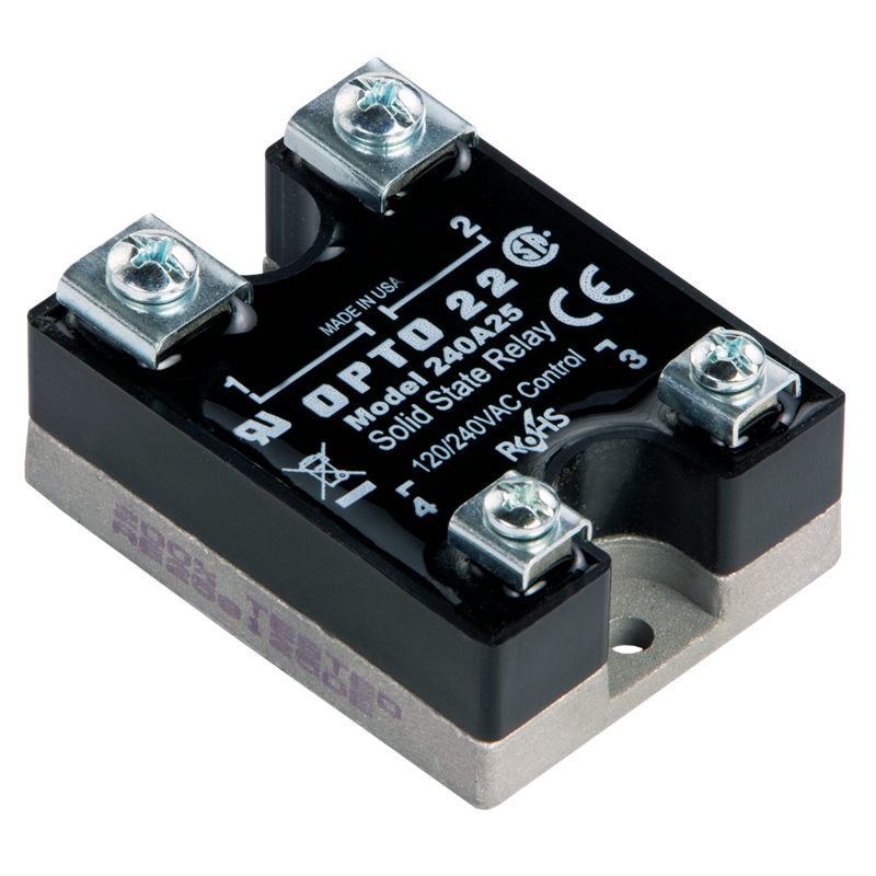 240A25 Solid State Relay Wiring Diagram on
