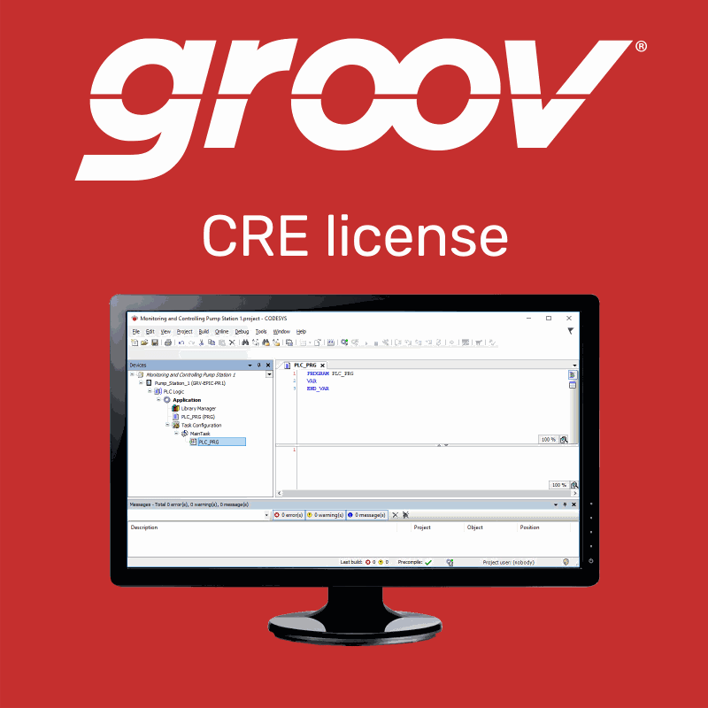 Opto22 - GROOV-LIC-CRE - License for CODESYS Runtime Engine on <em