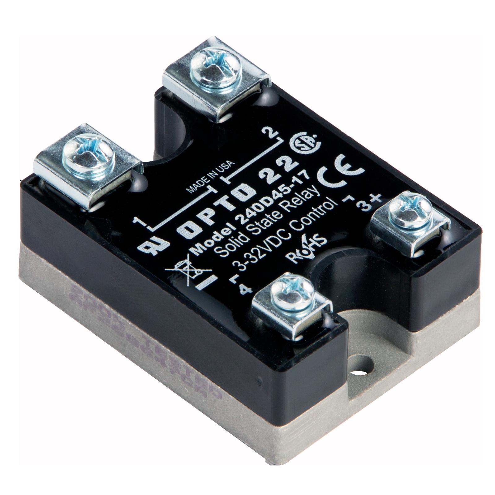 ssr control 240 vac schematic opto22 240d45 17    240       vac     45 amp  dc    control    solid  opto22 240d45 17    240       vac     45 amp  dc    control    solid