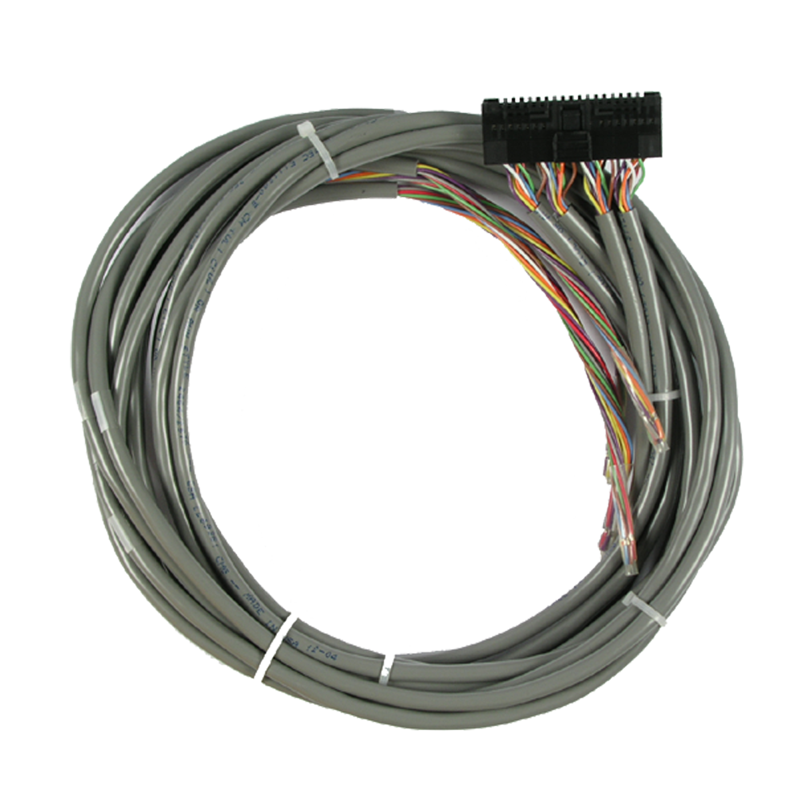 opto22 snap hd cbf6 wiring harness with flying leads for snap 32 rh opto22 com it's a snap wiring harness diagram