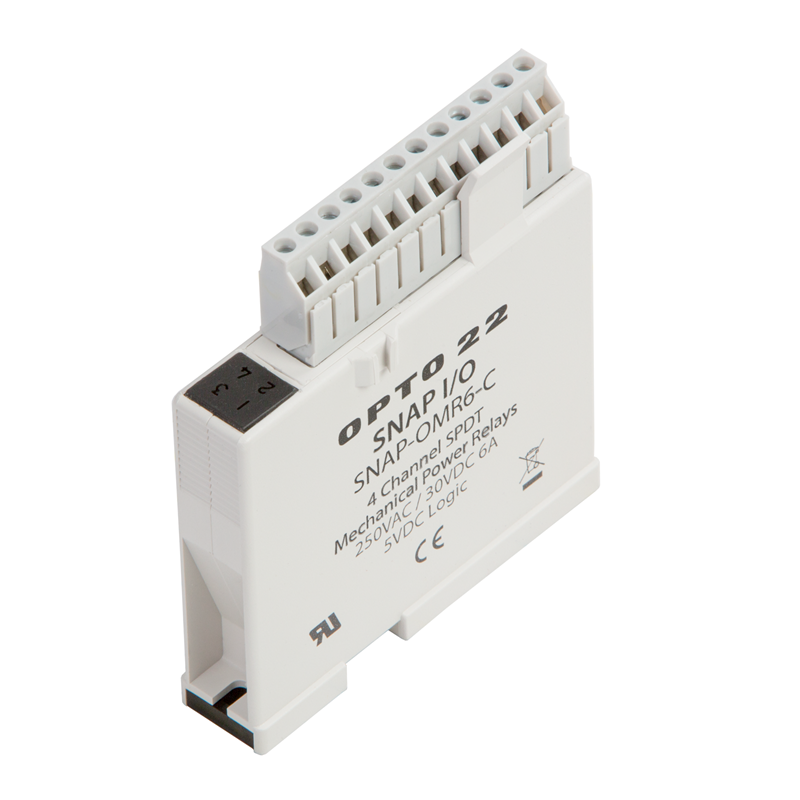 SNAP-OMR6-C Opto Relay Wiring Diagram on